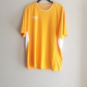 Bee Sport  Mens Top Yellow Size Lg